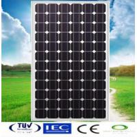 Buy cheap 150W Mono-crystalline Solar Panel made of 6 inch solar cell from wholesalers