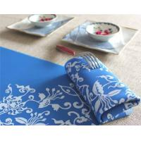 Buy cheap Blue color silicone desk placemats desk mat from wholesalers