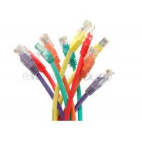 Buy cheap Unshielded 4 Twisted Pair 3m RJ45 Colorful CAT5E Patch Cord UTP from wholesalers