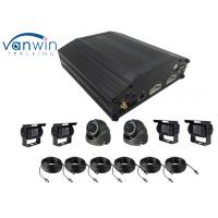 Buy cheap 8 Channel HDD 4G GPS WIFI  Basic MDVR AHD H.264 video mobile DVR for Bus with Mouse Operation from wholesalers