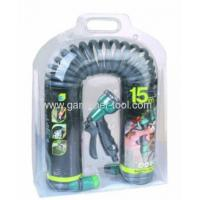 Buy cheap 50FT Garden Contract Water Hose With Plastic 8-pattern Water Spray Nozzle from wholesalers