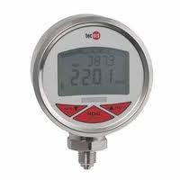 Buy cheap single and dual scale crimped bezel temperature digital pressure gauge from wholesalers