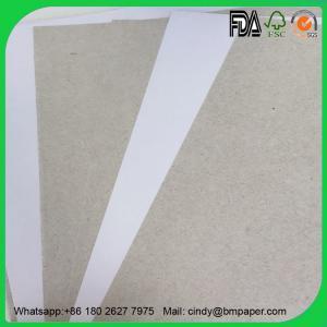 Buy cheap Guangzhou Top Supplier Coated C1S Grey Back Duplex Board 450gsm product