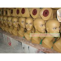 Buy cheap Supply male mannequin head, wig mannequin head from wholesalers