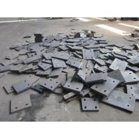 Buy cheap HRC65 Steel Blind Cement Mill Liners Plates With Ni-Hard Cast Iron from wholesalers