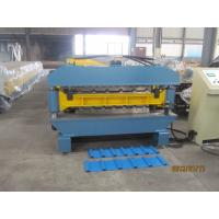 High Speed Double Layer Deck Roll Forming Machine 0.3 - 0.7mm