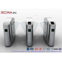 Buy cheap Flap Barrier Gate Flap Wing Automatic Systems Turnstiles Polishing With Anti - Reversing Passing from wholesalers
