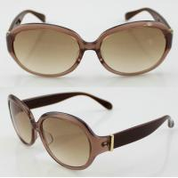 Buy cheap Unisex Handmade Oval Acetate Frame Sunglasses With Polarized Lens product