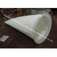Buy cheap White 1-200 Micron Filter Bags , Liquid Filter Bag For Chemical Industry Filtering from wholesalers