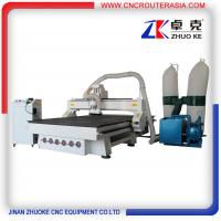Buy cheap China Woodworking CNC Router with 7.5KW spindle ZK-1525 1500*2500mm from wholesalers