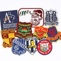 Buy cheap Embroidery Metal School Badge from wholesalers