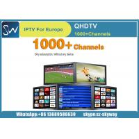 Buy cheap Qhdtv IPTV account Arabic Iptv Apk French Canal Sat for Smart TV Android Box from wholesalers
