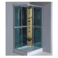 Buy cheap Square Jetted Glass Shower Cabin from wholesalers