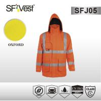 Buy cheap Man Safety hi vis reflective clothing motorcycle jacket EN ISO 20471 product