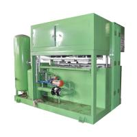 Buy cheap Waste Paper Egg Tray Machine , Egg Tray Manufacturing Unit 1300pcs/h Capacity from wholesalers