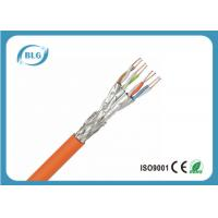 Buy cheap Copper Cat 7 Ethernet Cable / LSZH Jacket Cat 7 Network Cable 300M 500M from wholesalers