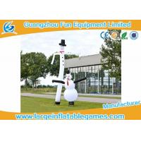Buy cheap Advertising Small Inflatable Air Dancering Man / Inflatable Snowman Dancer For Business from wholesalers