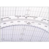 Buy cheap Slide flight computer E6B Plotter with nautical and statute scales from wholesalers