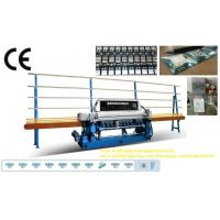 Buy cheap Straight Line Small Glass Beveling Machine Processing Thickness 3 ~ 19mm from wholesalers