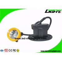 Buy cheap 7.8Ah Explosion Proof Miners Helmet Light  Underground With Silicon Button Cap from wholesalers