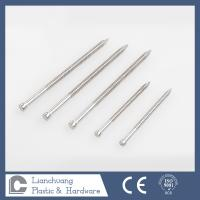 Buy cheap Headless Ring Shank Nails for timbers , Flat head annular threaded nails from wholesalers