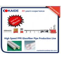 Buy cheap 3 layer high speed PPR Pipe Making Machine SPEED 30m/min from wholesalers