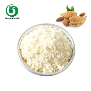 China Bulk Natural Organic Almond Flour Light Yellow Powder Food Grade Health Care on sale