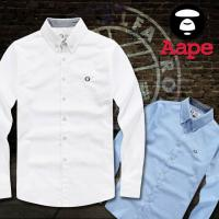 Buy cheap Wholesale 2015 New arrival designer double a-ape fashion AAA quality gentlemen's shirts from wholesalers