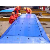 Buy cheap customized uhmw pe marine fender pad / uhmw pe fender pad / marine Fender Facing Pad factory price from wholesalers