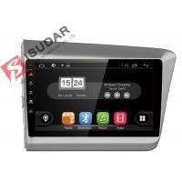 Buy cheap New Allwinner T3 Android Car Navigation System Honda Civic Head Unit With 4G WIFI product