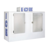 Buy cheap Gas Station Bagged Ice Storage Bin 100 Cu. Ft. Automatic Defrost Type from wholesalers