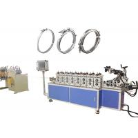 China 45mm Shafts Cold Roll Forming Machine With Quick Change Stainless Steel Flange Clamp Ring on sale