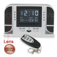 Buy cheap HD 720P  Alarm Clock Camera with Motion Detection, Nightvision and Remote Control Function from wholesalers