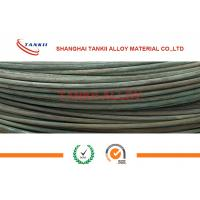 Buy cheap 6-8mm Oxidized Fecral Resistance Heating Wire Cold Rolled High Resistivity from wholesalers