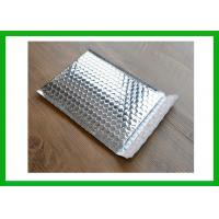 Buy cheap Aluminum Foil Postal Packaging Silver Jiffy Insulated Mailers With Bubble Lining from wholesalers