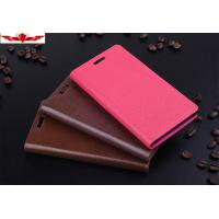 Buy cheap Genuine HUAWEI ASCEND P6 Wallet Leather Cases Ultimate Fit With Holder Multi Color from wholesalers