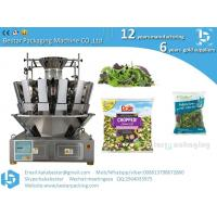 Buy cheap Fresh lettuce packing machine, fresh lettuce packing machine, fresh lettuce filling machine, lettuce salad packing machi from wholesalers
