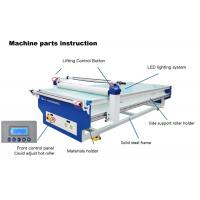 Buy cheap Large Format Flatbed Laminating Machine With Cutting Pad And Cutter 1500 / 3000mm from wholesalers