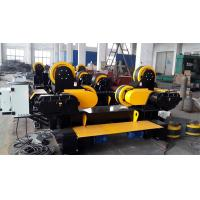 Buy cheap 60T Movable Welding Rollers Stands For Pressure Vessels / Tanks / Boilers Turning Welding from wholesalers