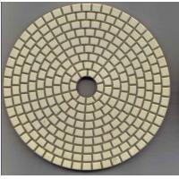 Buy cheap metal bond marble granite stone angle grinder dry diamond polishing pads from wholesalers