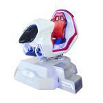 Buy cheap Great Fun VR Car Racing Simulator 32 Inch Display Screen 2 Sensors Blue / Red Color from wholesalers
