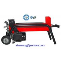 Buy cheap cheap 4 ton horizontal hydraulic electric screw log splitter with CE GS TUV from wholesalers