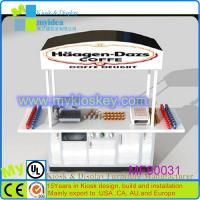 Buy cheap ice cream cart/china mobile food cart/bubble milk tea cart from wholesalers
