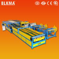 Buy cheap Golden supplier Nanjing BLMKA air conditioning HVAC u shape auto duct making machine from wholesalers