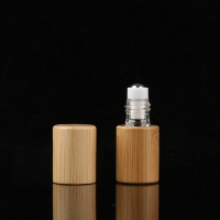 Buy cheap PETG 15ml Bamboo Roller Bottle For Eye Serum Hot Stamped product