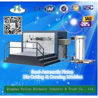 Buy cheap Platen Manual High Efficiency Carton Card Die Cutter Creasing Machine from wholesalers