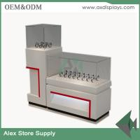 Buy cheap Watch store display showcase counter design images glass display MDF  cabinet from wholesalers