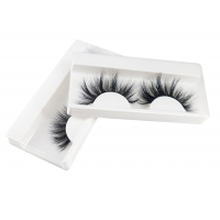 Buy cheap Wholesale New 25 mm Fluffy Mink 1 pairs Eyelash Makeup Volume 3D Lashes  Natural False Eyelash Extensions from wholesalers