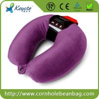 Buy cheap Travel Beads Neck Pillow with Button Micro Beads Travel Neck Pillow from wholesalers