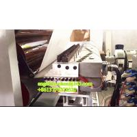 Buy cheap Plastic PVC UV-coating marble sheet/panel production line plant product